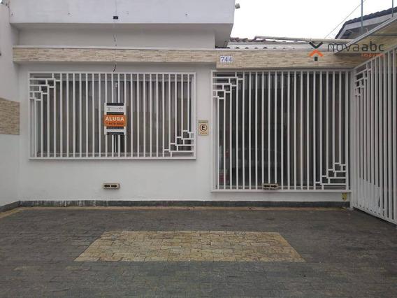 Sala Para Alugar, 146 M² Por R$ 4.700/mês - Campestre - Santo André/sp - Sa0122