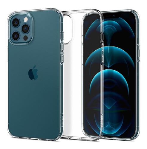Capa Original Spigen iPhone 12 E 12 Pro 6,1  Liquid Crystal