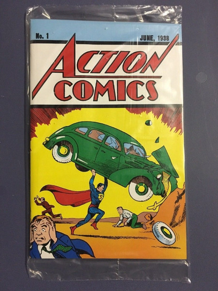 Hq Superman Gibi No. 1 Dc Action Comics + Certificado