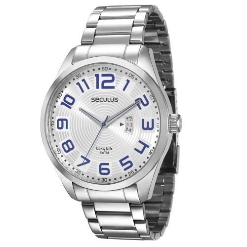 Relógio Seculus - Novo - Frete Grátis - Mod. 28534gosgna1