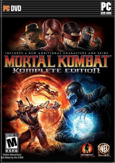 Mortal Kombat 9 - Komplete Edition - Pc - Envio Digital