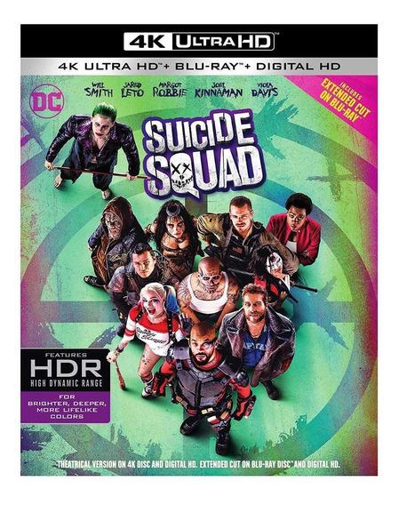 Escuadron Suicida Suicide Squad Pelicula 4k Ultra Hd