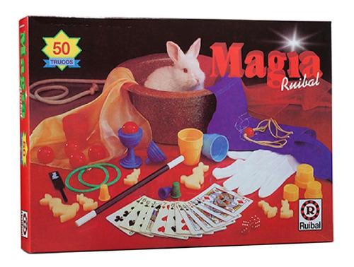 Imagen 1 de 10 de Ruibal Juego De Mesa Magia 50 Trucos Infantiles Playking