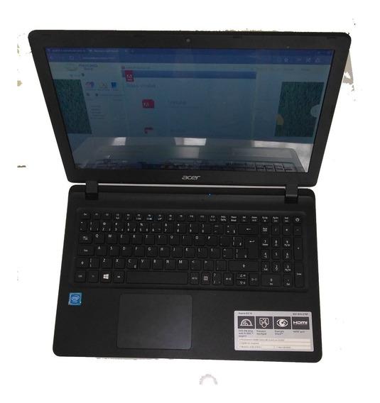 Notebook Acer Pc Muito Novo 15 500 Hd 4 Gb Memoria Ram Hd