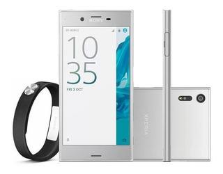 Smartphone Xperia Xz F8331 3gb 32gb Prata Novo + Brinde
