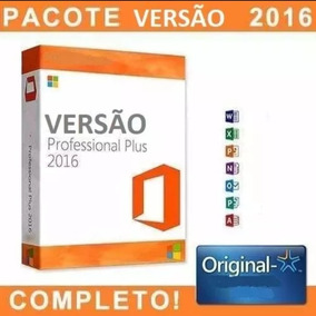Chave Office 2016 Professional Vitalicia
