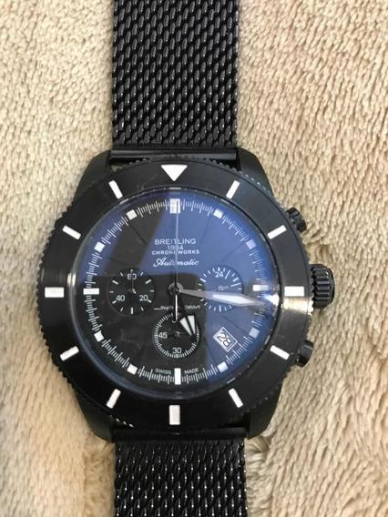 Relógio Breitling Superocean A23870 Preto