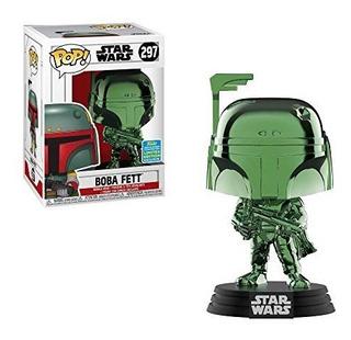Muñeco Funko Pop Star Wars Boba Fett 297 Original!!