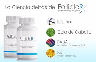Follicle Rx Regenera Tu Cabello Crece Cabello Pelo Alopecia