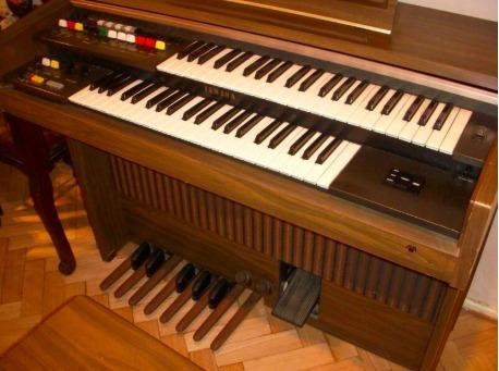 Funcional Órgano Yamaha Doble Teclado De Coleccion