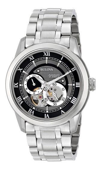 Relógio Bulova Automatic 96a119 Original E Novo