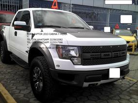 Ford Lobo Raptor Svt 2013 Cab Y Med Automatica *eng $ 98,800