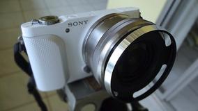 Câmera Sony Nex 3n .c/nova 16-50mm Full Hd Branca Impecável!