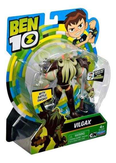 Vilão Vilgax Coleção Figura De Ação 12cm Ben 10 #76114