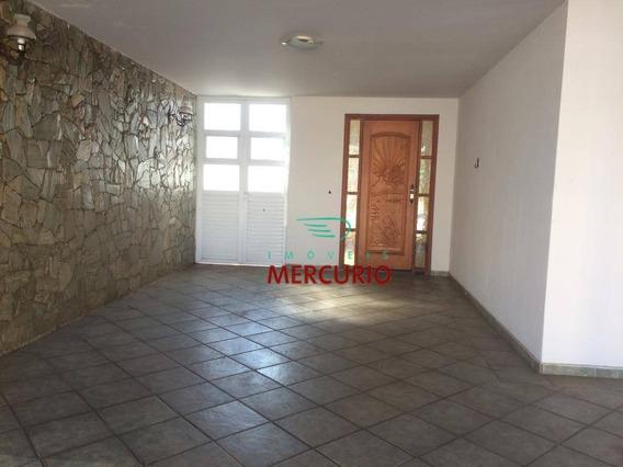 Casa Com 3 Dormitórios Para Alugar, 270 M² Por R$ 2.500,00/mês - Jardim América - Bauru/sp - Ca2950