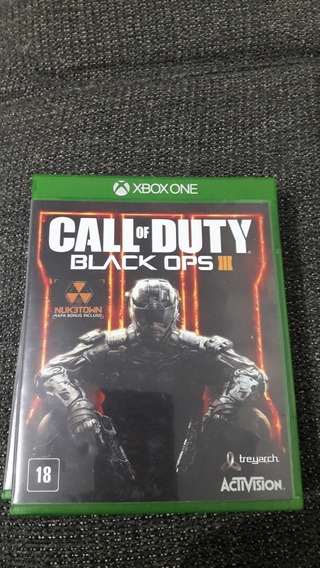 Call Of Duty Black Ops 3 - X One - Mídia Física - Original