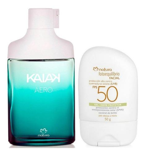 Perfume Kaiak Aero + Fotoequilibrio Nat - mL a $480