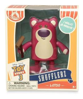 Disney Store Toy Story Oso Lotso Camina A Cuerda Nuevo!!