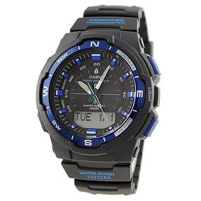 Relógio Masculino Anadigi Casio Out-gear Sgw-500h-2bvdr Azul