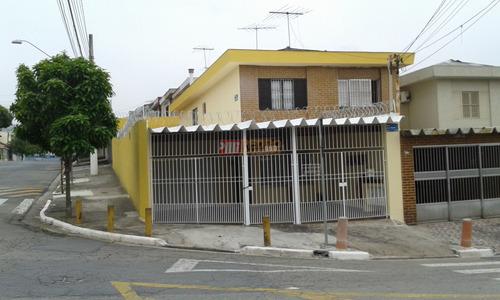 Sobrado No Bairro Taboao Em Sao Bernardo Do Campo Com 03 Dormitorios - V-24517