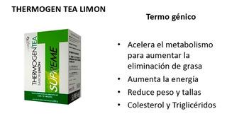 Thermogen Limon Omnilife (3 Cajas) Quemador De Grasas