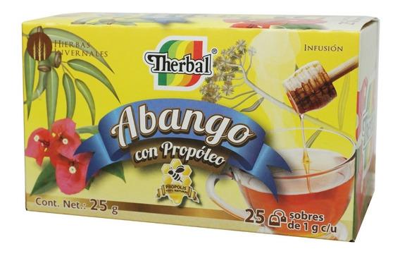 Te De Abango Con Propoleo 25 Sobres Therbal