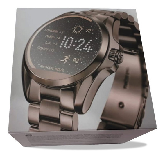 Relogio Michael Kors Mkt5007 Access Touch Digital Chocolate
