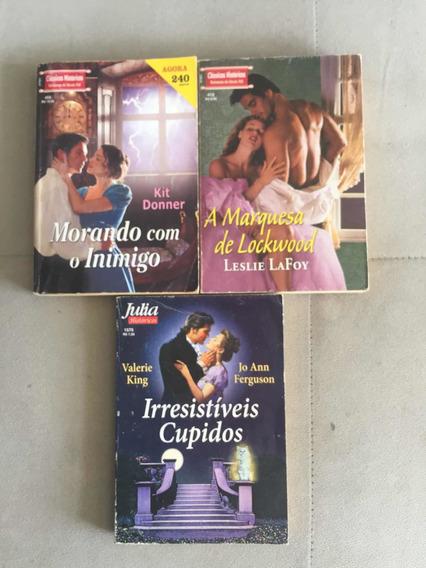 Livros - Set Com 3 Romances
