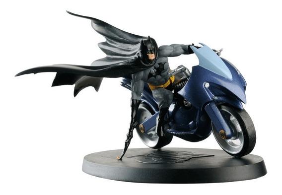 Miniatura Moto Batman On Bike 1:18 Em Metal Nova/lacrada !