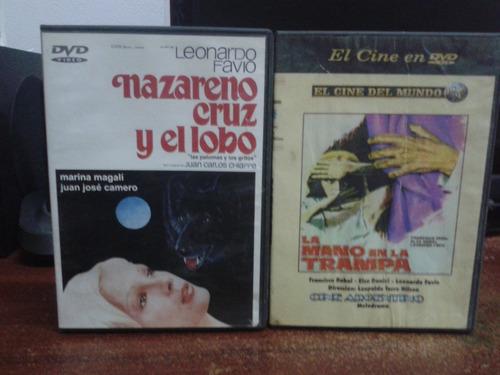 Colección-nazareno Cruz Y El Lobo-mano En La Trampa-dvd