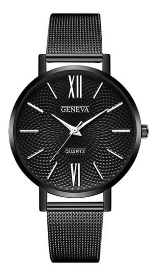Relógio Feminino Geneva Quartz Varías Cores