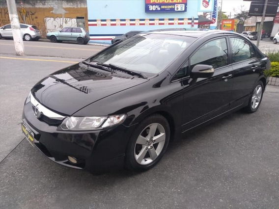 Honda Civic Lxs 1.8 Flex Automático 2008