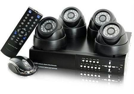 Imagem 1 de 5 de Kit Cftv Completo Com Dvr Camera Hd E Acessorios Monte O Seu