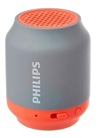 Caixa D Som Portátil Philips Bt50g Bluetooth Speaker Laranja