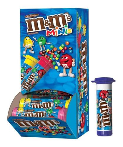 Imagen 1 de 2 de M&m Minis Chocolate Tubes