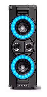Torre Bafle Parlante Potenciado Noblex Mnt950bt Usb Radio Bt