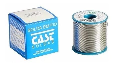 Solda Estanho Para Eletrônica 500gr Fio 1mm 60/40 * Azul *
