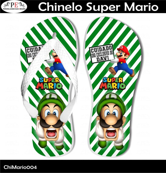 Chinelo Super Mario 4
