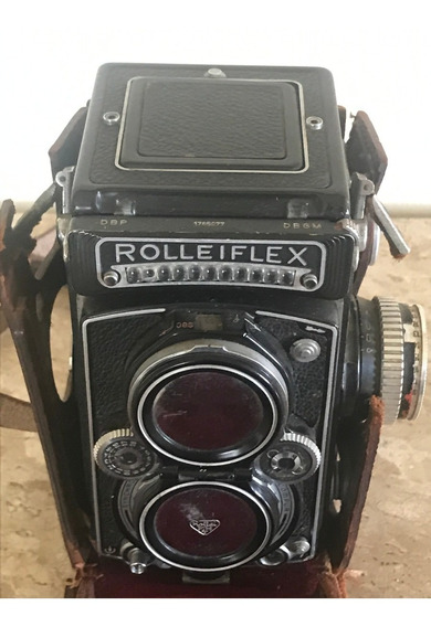Câmera Antiga Rolleiflex 3.5 Zeiss Planax