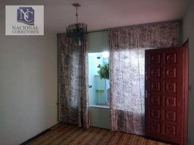 Casa Residencial Para Locação, Vila Curuçá, Santo André - Ca0645. - Ca0645