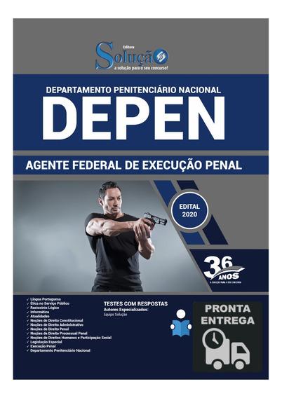 Apostila Agente Federal De Execução Penal Depen Livro