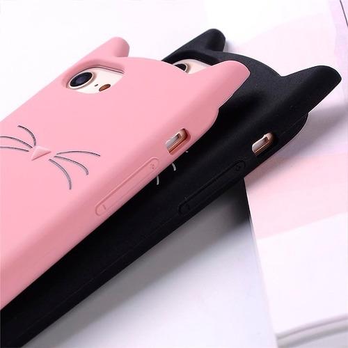 Forro Silicon iPhone / Samsung Serie A Y J Mod.: Gato