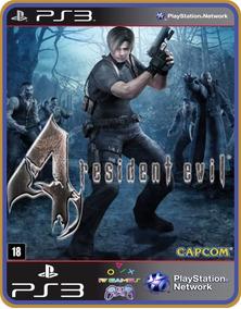 Ps3 Resident Evil 4 Mídia Digital