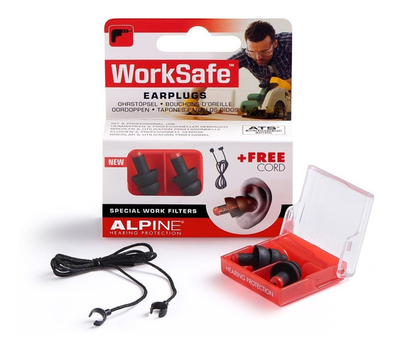 Protetor Auricular Alpine Worksafe - Segurança E Conforto