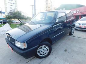 Fiat Uno Fire 2002 Azul Gasolina