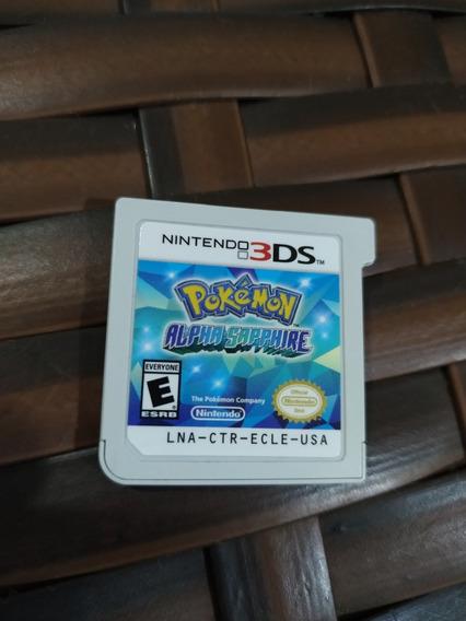 Pokemon Alpha Sapphire 3ds Americano Original Seminovo