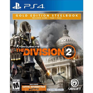 Tom Clancys The Division 2 Gold Edition Steelbook Ps4