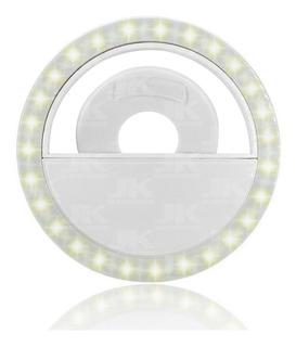 Flash Para Celular Luz Mini Ring Light Clipe Anel Led Selfie