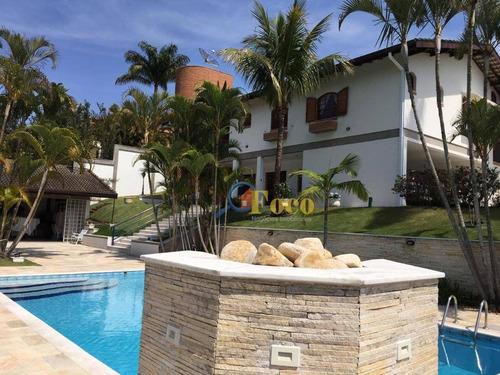 Imagem 1 de 22 de Chácara Com 4 Dormitórios À Venda, 2800 M² Por R$ 3.150.000,00 - Condomínio Parque Da Fazenda - Itatiba/sp - Ch0186