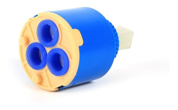Cartucho de Disco de cer/ámica de Repuesto para Grifo Mezclador de Lavabo de Cocina 35 mm OTOTEC